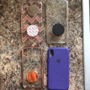Set of 4 iPhone X cases speck, Apple, Kate spade